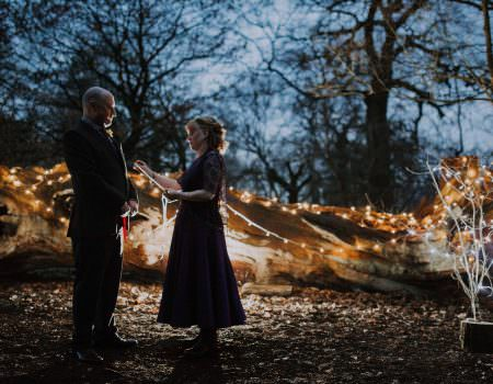 Outdoor Wedding in Sherwood Forest